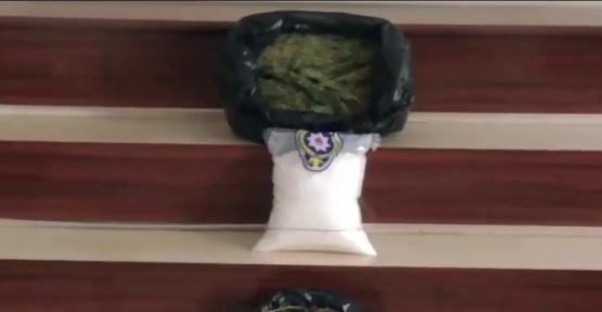 Gaziantep'te 3 kilo 250 gram uyuşturucu ele geçirildi
