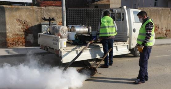 Germencik Belediyesi sinek ve haşeresiz bir yaz için çalışmalara başladı