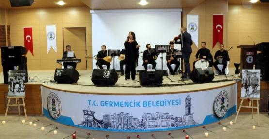 Germencikliler 'Türkülerle Çanakkale' programıyla duygulandı