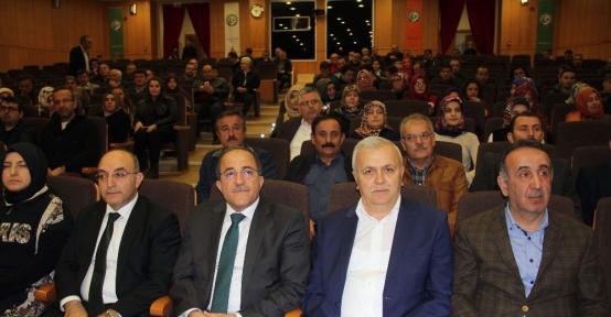"""Giresun'da """"Anayasa Değişikliği ve Referandum Süreci  """"konferansı"""