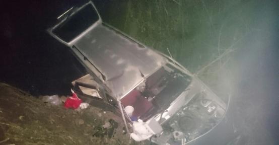 Giresun'da iş dönüşü kaza: 7 yaralı