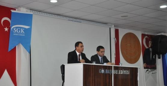 Gölbaşı'nda İpekyolu Kalkınma Ajansı destek programı tanıtıldı