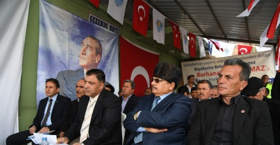 Göz Göze programı Gülnar'da yapıldı