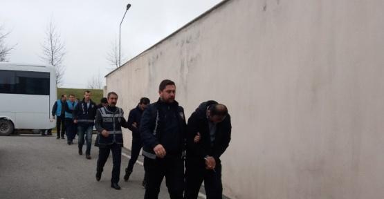 Gözaltına alınan 20 DAEŞ'li adliyeye sevk edildi
