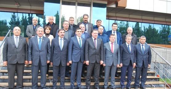 GTO Başkanı Hıdıroğlu'ndan Güneş'e geçmiş olsun ziyareti