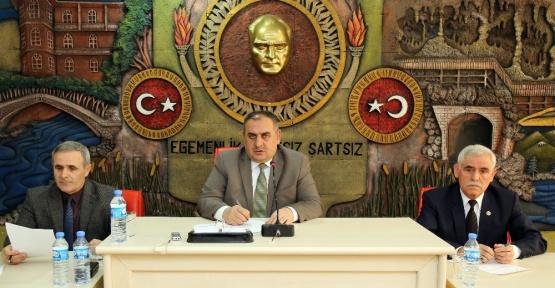 Gümüşhane İl Genel Meclisi'nin Mart ayı toplantıları başladı