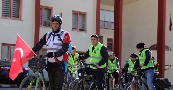 Gümüşhane'de bisiklet etkinliği