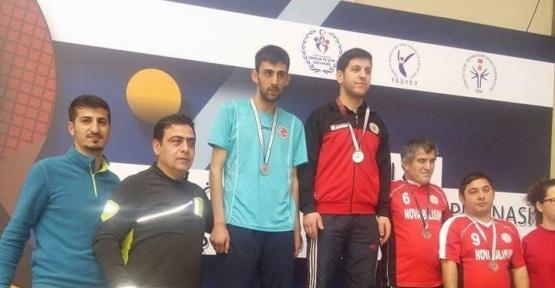 Hakkarili sporcu Türkiye finallerinde