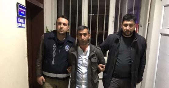 Hakkında 9 ayrı suçtan tutuklama kararı bulunan şahıs yakalandı