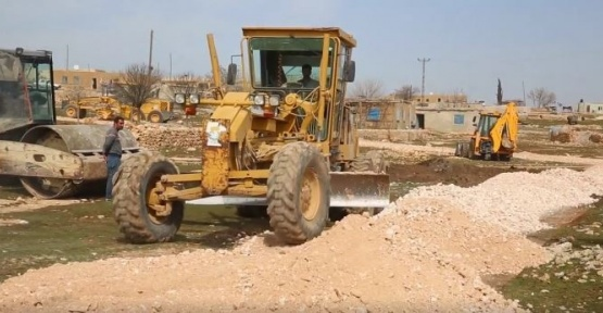 Haliliye Belediyesi 4 mahallede daha yol çalışmalarını tamamladı