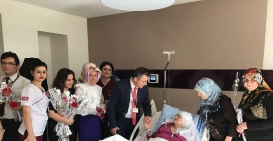 Hastanede Kadınlar Günü kutlaması