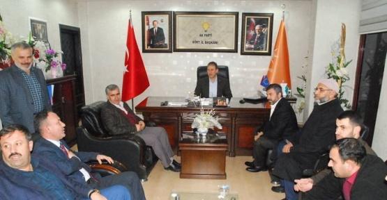 Hüda-Par'dan AK Parti'ye ziyaret
