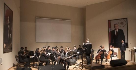 İbrahim Çeçen Üniversitesinde Orkestra &Oda Müziği Konseri