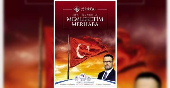 İbrahim Sadri'den 'Merhaba memleketim' şiir dinletisi