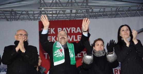 """İçişleri Bakanı Soylu: """"Ey Kılıçdaroğlu, 16 Nisan'dan sonra o koltuğu koruyamayacaksın"""""""