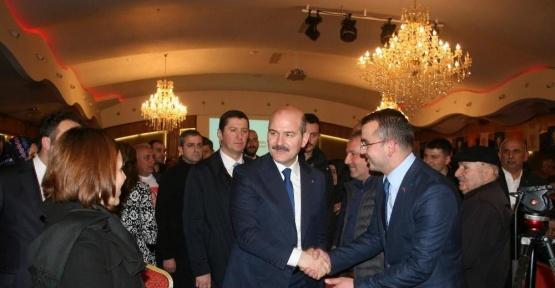 İçişleri Bakanı Süleyman Soylu Trabzon'da