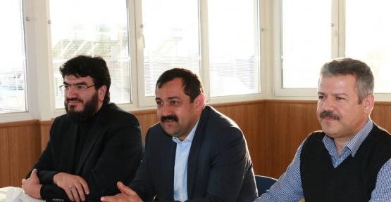 İl Başkanı Sümer, STK ziyaretlerine devam ediyor