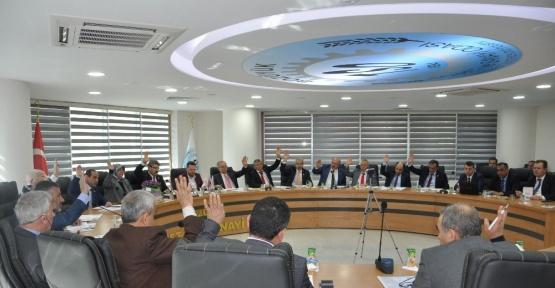 İl Genel Meclisi'nin Mart ayı son birleşimi Bozüyük'te yapıldı