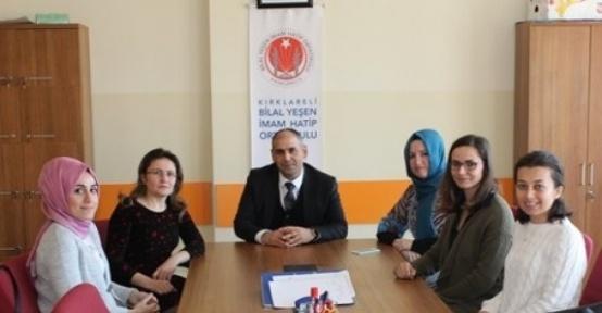 İl Milli Eğitim Müdürü Aşım okulları gezdi