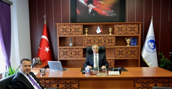 İl Müftüsü Demirtaş'tan Rektör Şengör'e ziyaret