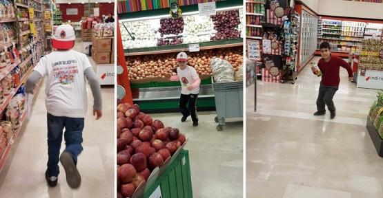 İngilizce Alışveriş Oyunu ile Markette Yarıştılar