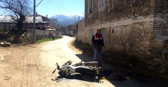 İzmir'de motosiklet kazası: 1 ölü