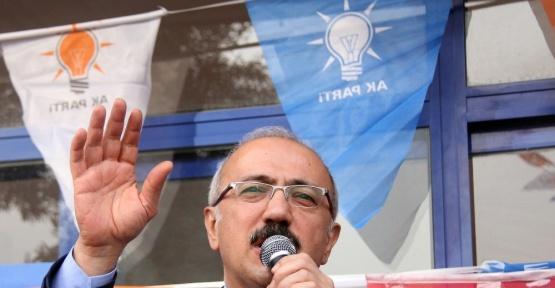 """Kalkınma Bakanı Elvan: """"Türkiye'nin gelişmesinden, büyümesinden, güçlenmesinden korkuyorlar"""""""