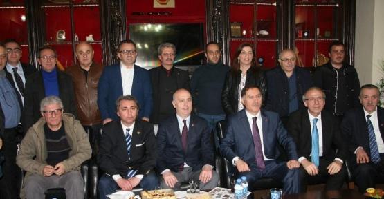 Kamu Başdenetçisi Şeref Malkoç memleketi Trabzon'da