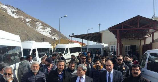 Kapıköy sınır kapsından 1 martta 3 bin 174 yolcu giriş yaptı