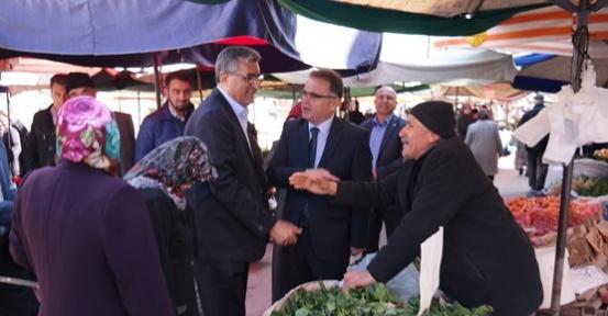 Karaman'da esnaf EVET diyor