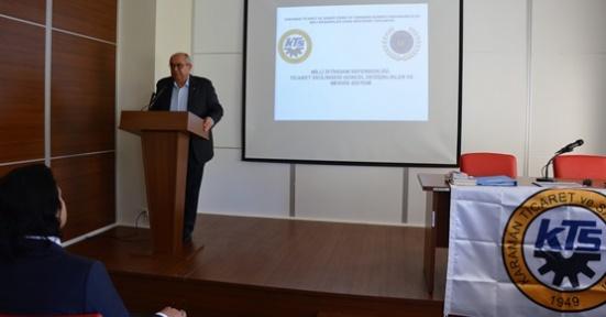 Karaman'da KTSO bilgilendirme toplantısı yaptı