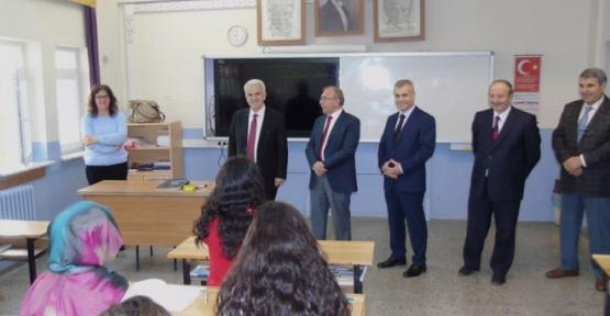 Karaman'da öğrencilere YGS moral ziyareti
