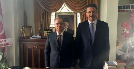 Karaman Valisi Tapsız'dan İl Müftüsü Ketenci'ye Ziyaret