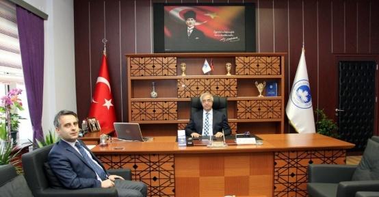 Karam'dan Rektör Şengörür'e ziyaret