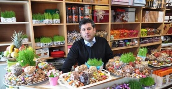 Kars'ta Nevruz öncesi binbir itinayla hazırlanan semeni ve yemişler görücüye çıktı