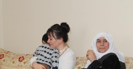 Kaymakam Öztürk'en şehit ailesine ziyaret