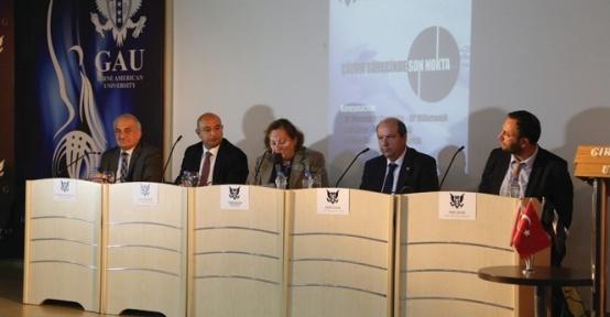 Kıbrıs'ta çözüm süreci masaya yatırıldı