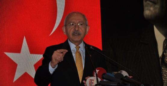 """Kılıçdaroğlu: """"Hepimiz faniyiz ama bu anayasa böyle gidecek, birisi vardır başkan da seçilmiştir makul bir insandır ama biri gelir makul değildir"""""""