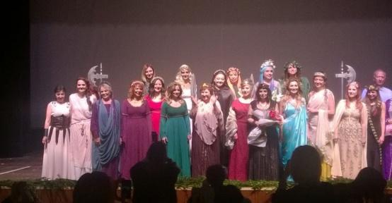 Kilikya'nın Kadınları oyunu büyük beğeni topladı