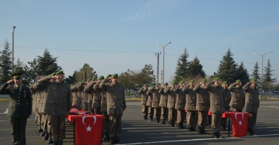 Kırklareli'nde 366. Kısa Dönem Jandarma Erler Yemin Etti