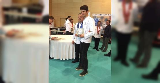 Kızılcahamamlı öğrenci Ege Şefler Şampiyonası'nda 4. oldu
