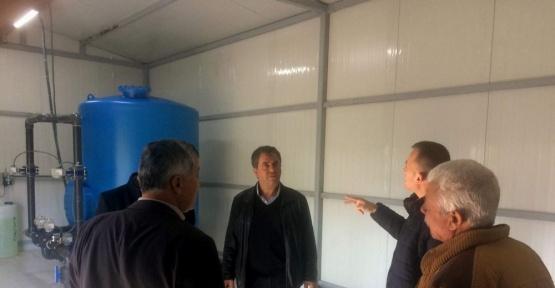 Koçarlı'da iki içme suyu tesisi hizmete başladı
