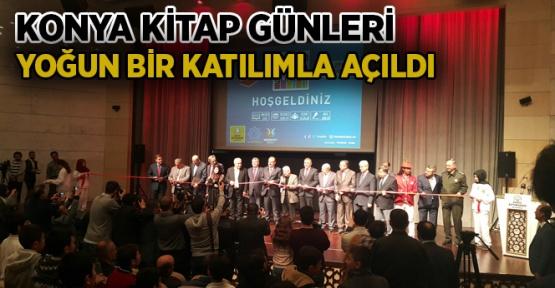 Konya'da  Kitap Günleri başladı