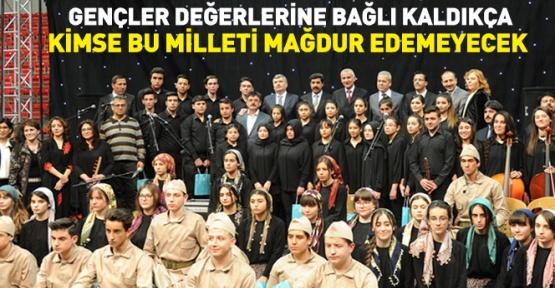 Konya'da Öğrenciler Çanakkale Ruhunu Yaşattı
