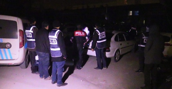 Konya'da 300 polisle asayiş uygulaması