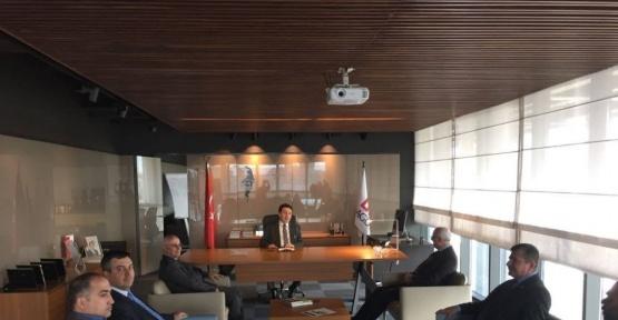 KTO heyetinden AGÜ Rektörü Sabuncuoğlu'na ziyaret