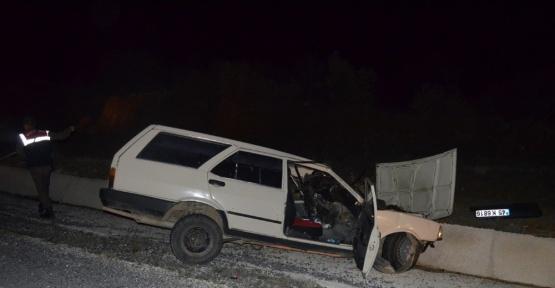 Kula'da trafik kazası: 1 ölü, 4 yaralı