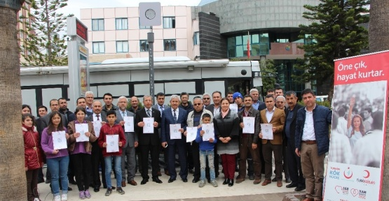 """Kumluca'da kök hücre bağışına """"Umudum sensin"""" desteği"""