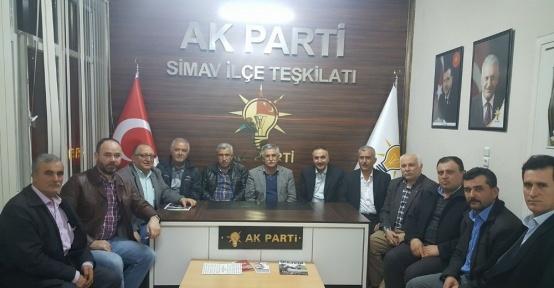 Kuşu Köyüne AK Parti desteği