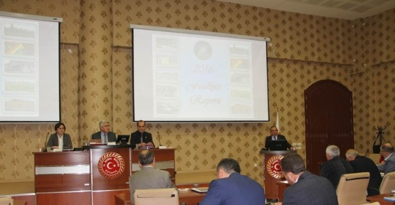 Kütahya İl Genel Meclisinin Mart ayı görüşmeleri başladı